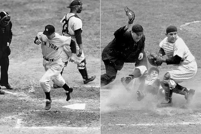 This isn't the first time the Yankees and Phillies have met in the World Series.  In 1950, however, the series ended in just four games as the Yankees swept Philly 4-0.