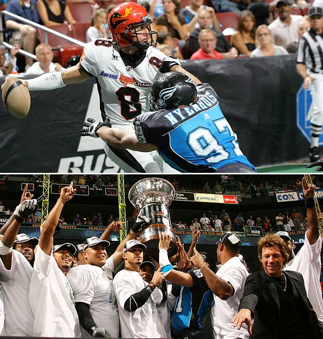 On July 5, 2008, the Philadelphia Soul beat the New York Dragons in the Arena Football conference divisional playoff match.  The Soul went on to win the last AFL Championship.