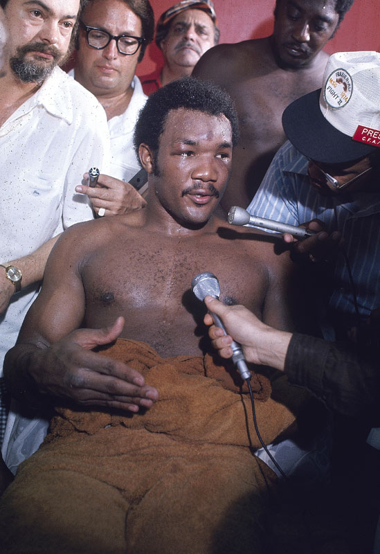 Foreman, who owned a flawless 40-0 record with 37 KOs, was a far-and-away favorite, even in the eyes of Ali's longtime supporter, Howard Cosell.