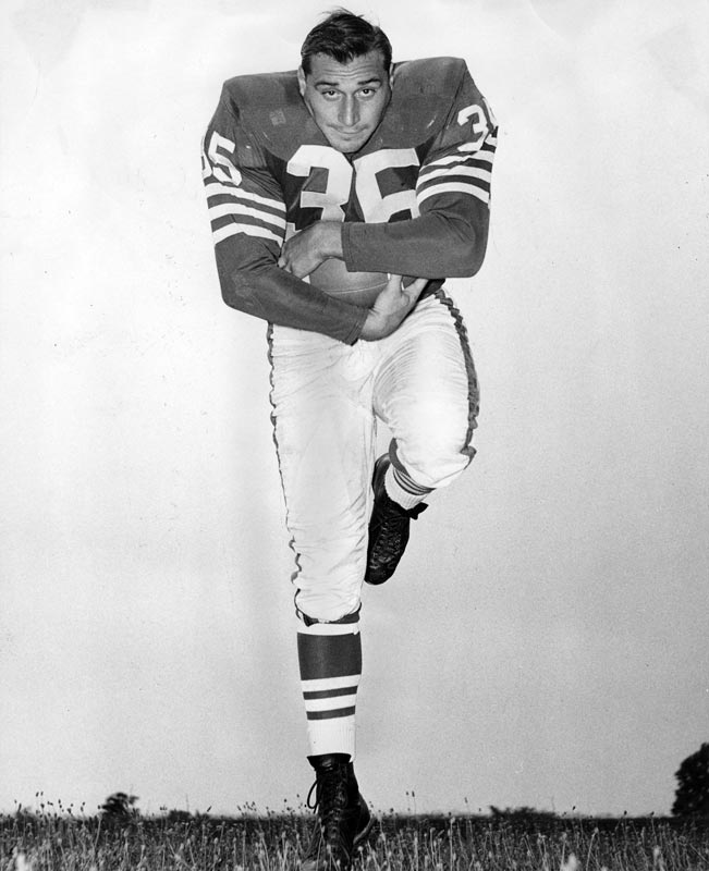 Baltimore's Alan Ameche becomes the first rookie in league history to top 100 yards rushing in his first two games after totaling 153 yards against Detroit. He had 194 yards in his debut against Chicago.