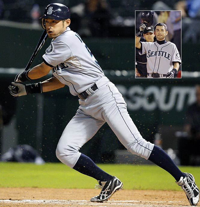 With a little ground ball through the box, Ichiro Suzuki breaks the major league record for hits in a single season. The historic hit by the Mariner outfielder from Japan surpasses George Sisler's 84-year-old mark of 257 hits established in 1920 with the St. Louis Browns.