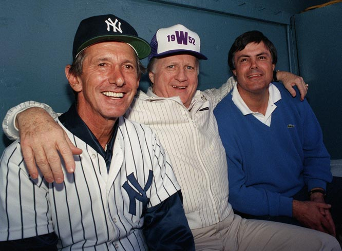 After Woody Woodward resigns as General Manager of the Yankees, George Steinbrenner names Lou Piniella as the team's new General Manager and Billy Martin is the new manager, the fifth time he's been hired in that role.
