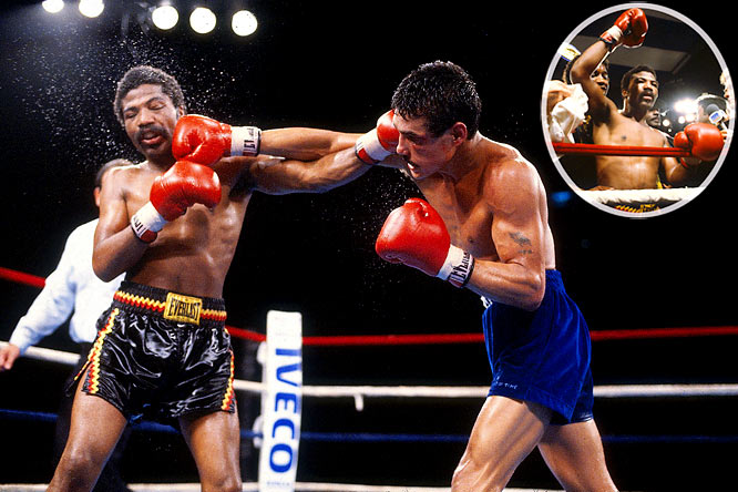 Arguello, who had held the featherweight, junior lightweight and lightweight crowns, was seeking to become the first four-division titlist against the 140-pound champ, Pryor. In a brutal, nonstop bout at the Orange Bowl in Miami, Pryor applied constant pressure and, after taking tremendous shots from Arguello, prevailed with an electrifying 14th-round TKO.