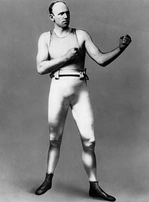 """""""Ruby"""" Robert was boxing's first three-division champion, taking the heavyweight and light heavyweight titles after holding the middleweight crown from 1891 until he relinquished it in 1897. The New Zealander was of the hardest punchers, pound-for-pound, in boxing history."""