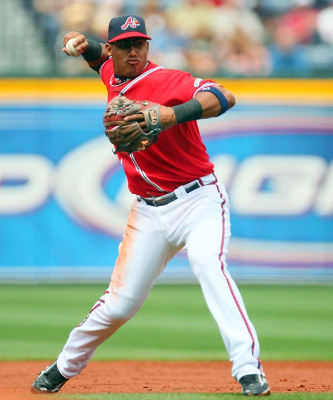 Escobar rode a small fishing boat, with sharks and six-foot waves snapping at its sides from Cuba to Miami in October of 2004. The Braves took Escobar in the second round of the 2005 draft, 75th overall. Through three major league seasons, Escobar boasts a .301 average with 164 RBIs. He is also recognized as being one of the better defensive shortstops in the National League.