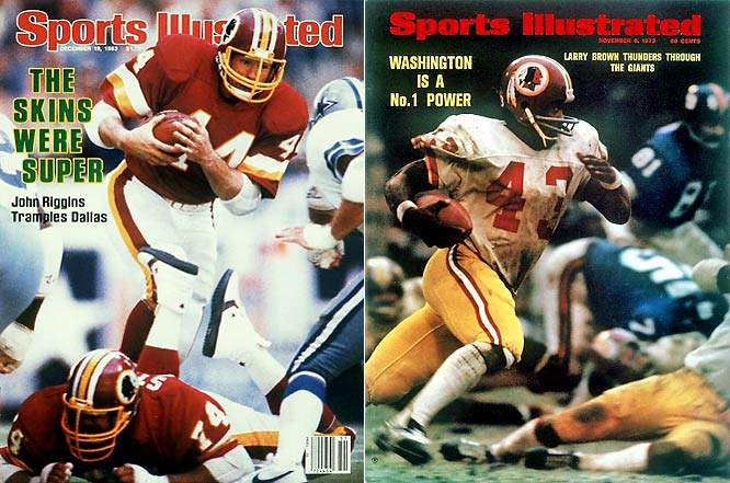 The 1983 Redskins of Joe Theismann and John Riggins didn't match the 1982 team's success by repeating once it reached the Super Bowl, but it did match the franchise record with nine straight victories at the end of the regular season. The only other Washington team to rip off nine straight during a regular season was the 1972 squad, which also made it to the Super Bowl and lost.