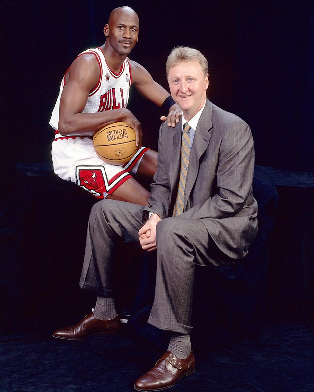 Boston forward Larry Bird scores his 20,000th career point in the Celtics' 123-95 win over Washington. Also on this day in 1996,  Michael Jordan becomes the 10th player in NBA history to reach 25,000 points after scoring 35 in the Bulls 97-88 win at the Spurs.