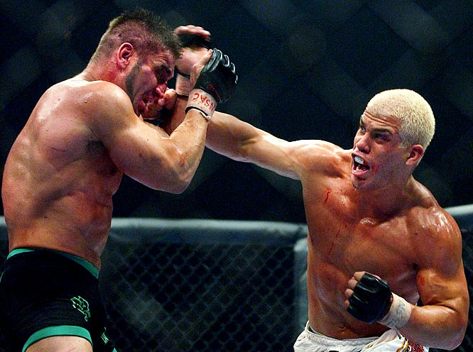 "It began in the late 1990s when Ortiz verbally and physically took shots at Shamrock's Lion's Den. But it wasn't until the two were matched at UFC 40 that the true nature of their rivalry took shape. Their promotional weight and genuine contempt made UFC 40 Zuffa's most successful pay-per-view before The Ultimate Fighter debuted in 2005. The rematch at UFC 61 (aptly dubbed ""Bitter Rivals"") set a then-UFC record of 775,000 pay-per-view units sold. Though Ortiz easily won both bouts, they were matched once more (free on SpikeTV) and drew 5.7 million viewers."