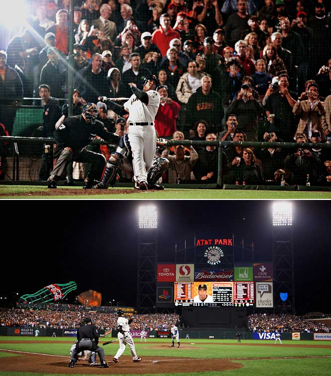 """This record is not tainted at all. At all. Period,"" Giants slugger Barry Bonds said after hitting home run No. 756 into the deepest part of AT&T Park in San Francisco, placing him above the esteemed Hank Aaron on baseball's career home run list. Whether it is tainted is up for debate (there is a lot of evidence that Bonds used performance-enhancing drugs), but there is no denying he rewrote one of baseball's most hallowed records. It was a huge moment. Period."