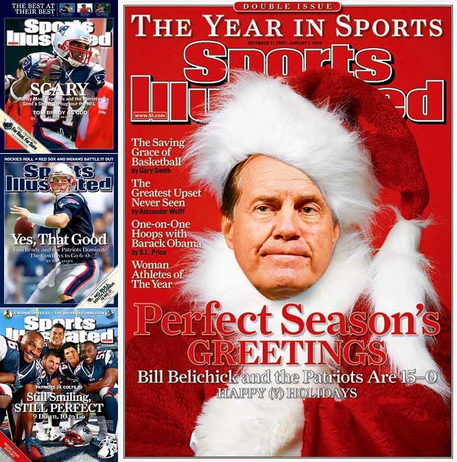 Patriots coach Bill Belichick is not the cuddliest of men, but there is no denying that his methods were magic as he guided the Patriots to a perfect record during the regular season and then to two playoff victories. Had the Patriots defeated the Giants in the Super Bowl and become only the second team to finish a season unbeaten, that team would have gone down as one of the best in sports history.