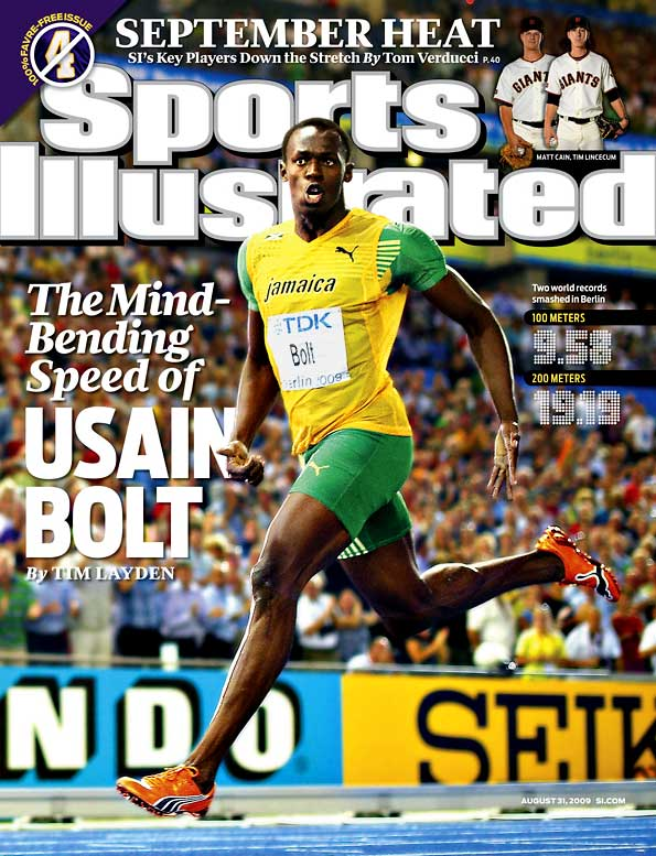Bolt shattered the world records in the 100 and 200 meters at the World Championships in Berlin, shaving a stunning .11 off each. It was so remarkable a performance that it instantly brought forth questions about whether Bolt was using performance-enhancing drugs. Track fans have been burned so many times before (Tim Montgomery, Marion Jones, etc.) that a little skepticism is healthy. But for now, in the absence of proof that Bolt cheated, he makes the list.