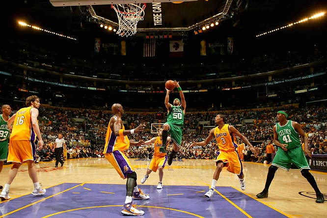 Of the historic comebacks this decade -- including the Celtics' rally from a 21-point fourth-quarter deficit against New Jersey in the 2002 East finals and the Lakers' digging out of a 27-point hole against Dallas in December 2002 -- none had higher stakes than Game 4 of the 2008 Finals. In the biggest Finals comeback in 37 years, the Celtics, down 21 after the first quarter, 24 in the second quarter and 20 midway through the third, roared past the Lakers to take a 3-1 series lead.