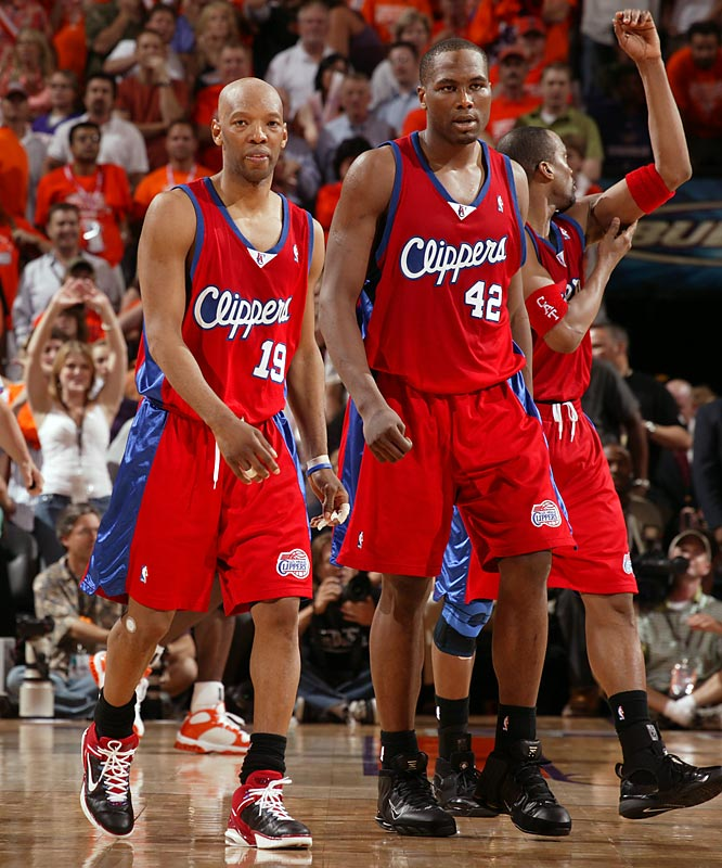 The Clippers capped their only winning season (47-35) and playoff berth of the decade by falling only one game short of the 2006 Western Conference finals. Before losing a second-round series to the Suns, Elton Brand, Sam Cassell and Co. got the Clippers past the opening round for the first time in 30 years. Alas, the Clippers' win total declined from 40 to 23 to 19 over the subsequent three seasons.