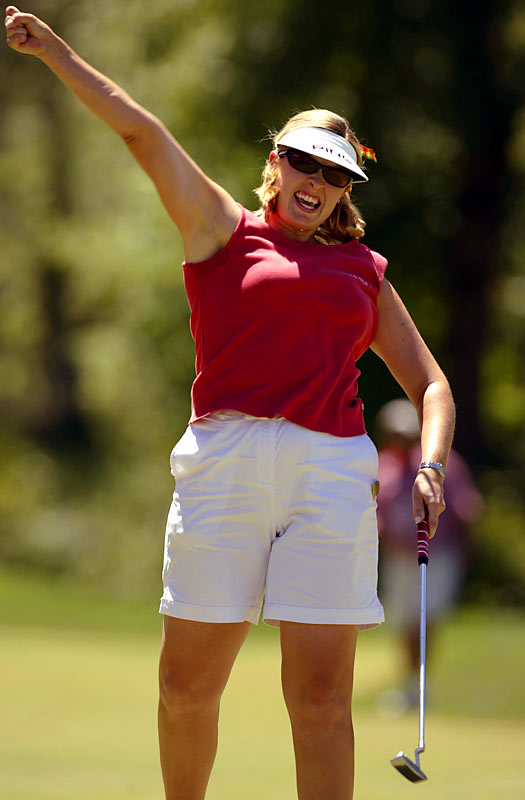 The PGA Tour produced its share of one-Slam wonders in the 2000s -- including Todd Hamilton (2004 British Open) and Shaun Micheel (2003 PGA Championship) -- but the LPGA trumped them all with Lunke. She became the first qualifier to win the U.S. Women's Open when she beat Angelina Stanford and Kelly Robbins in an 18-hole playoff. That would not only prove to be her only victory but also her lone top 10 on tour. Lunke has made only 16 LPGA starts in the last three years.