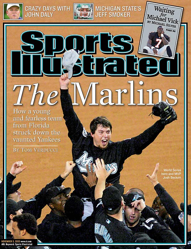 The Marlins have been a one-hit wonder in both the 1990s and 2000s: They won World Series in their only two playoff appearances, first in 1997 and then in 2003 with almost an entirely different cast. Led by a young rotation featuring Josh Beckett, Dontrelle Willis, Brad Penny and Carl Pavano, the 2003 Marlins won 91 regular-season games, beat the Giants and Cubs in NL playoff series and toppled the Yankees in a six-game World Series.
