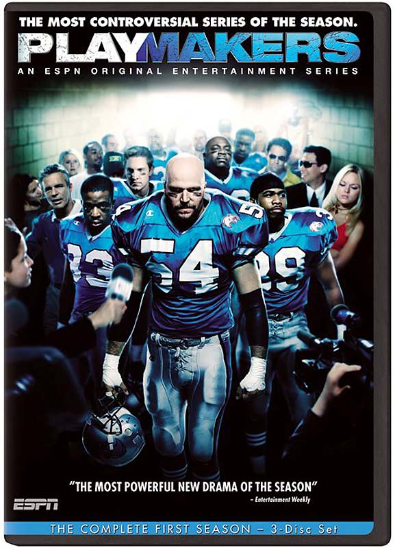 ESPN's original series about a fictional professional football team drew solid ratings in its 11-episode run. But the NFL, which counted ESPN as a broadcast partner then and now, wasn't pleased with how the scripted drama portrayed the game, and the show was canceled after one season.