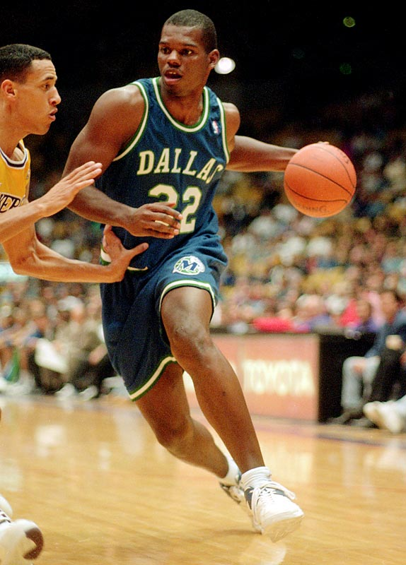 Rewarded with Jamal Mashburn in the draft as a result of their 11-win 1992-93 season, the Mavericks got off to a relatively promising 1-3 start before dropping their next 20 games. The glow from a four-point win in Minnesota didn't last long, as the club quickly embarked on a 16-game losing streak that all but sealed Quinn Buckner's short-lived head-coaching career.