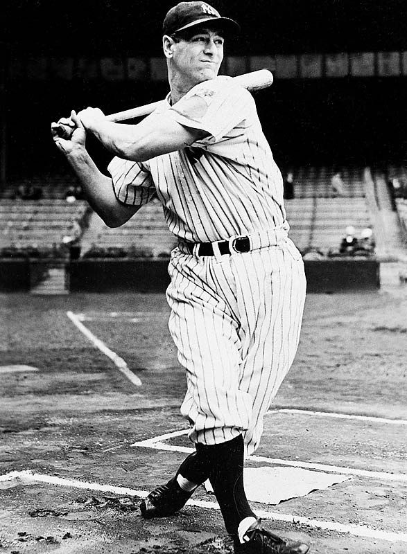 Lou Gehrig is elected to the Baseball Hall of Fame. The five-year waiting rule is waived after the 'Iron Horse' is diagnosed with amyotrophic lateral sclerosis (ALS).