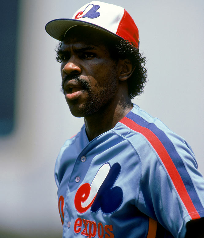 Dawson was the 1977 National League Rookie of the Year with the Montreal Expos, hitting .282 with 19 home runs and 21 stolen bases.