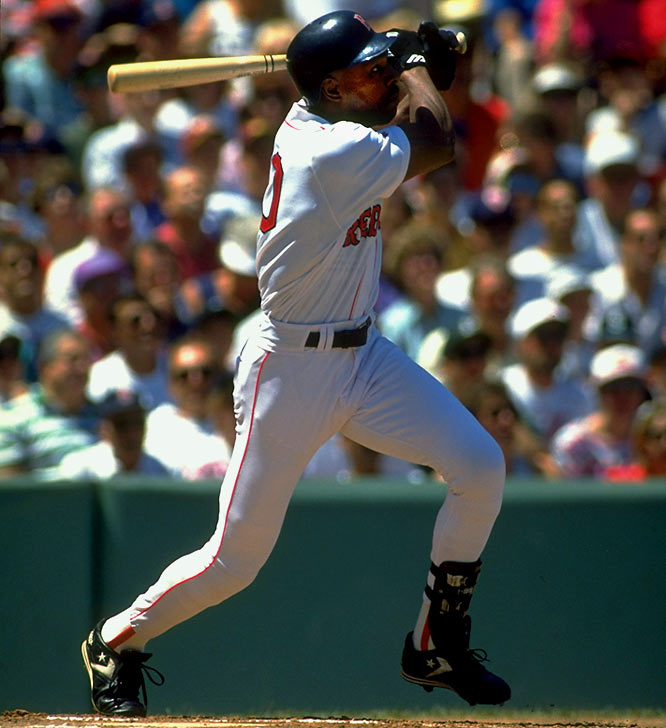 Dawson's numbers started to decline in the latter stages of his career with the Red Sox (1993-94) and Marlins ('95-96)