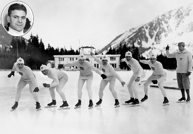 Fun fact to know and tell: The first gold medal in Winter Olympics history was won by an American. Speed skater Jewtraw took the 500-meter event on January 26, 1924 with a time of 44.0 seconds. Alas, it was the only U.S. gold at those Games. Jewtraw also finished 13th in the 5000m and eighth in the 1500m.