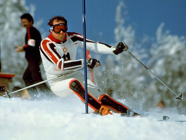 Fully recovered from a career-threatening fall at the 1979 World Championships, Mahre -- the 1980 Olympic slalom silver medalist and World Cup overall champ in 1981, '82 and '83 -- took advantage of a gaffe by his twin brother Steve to win the slalom gold in Sarajevo. (Steve ended up with the silver.) Brash American long-shot Bill Johnson won gold in the downhill after telling the world that was exactly what he was going to do.