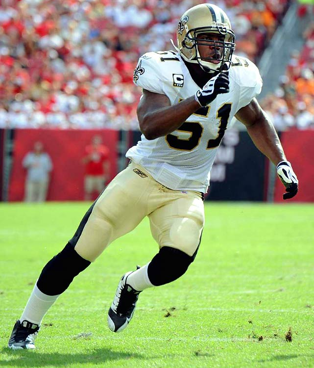 The Saints linebacker visited the United Nations headquarters in 2005 to push for funding of hurricane proof housing in his native Haiti and figures to be an advocate again for relief efforts in the wake of the earthquake.