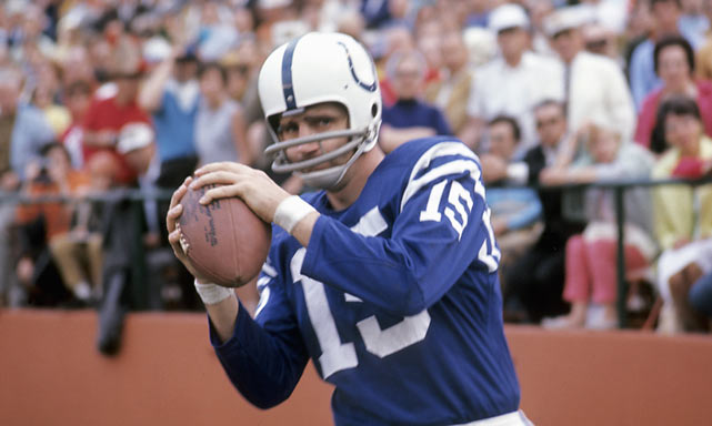 While the Jets were led by Namath, Baltimore's offense was in the hands of QB Earl Morrall, who became the team's starter after a preseason injury to Johnny Unitas. Though Unitas was healthy for the championship game, Colts coach Don Shula stuck with Morrall, who had led his squad to a 13-1 record and boasted the NFL's top passing percentage (93.2).