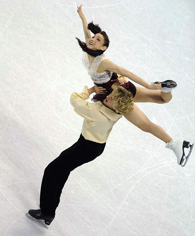 Davis and White skate for gold at the U.S. Figure Skating Championship in Spokane, Wash., in January.