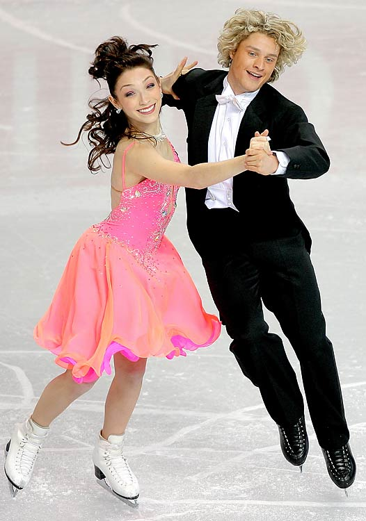 When they aren't on the ice, the Meryl Davis and Charlie White are students at Michigan.