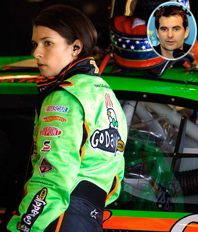 """I think it's a little too soon [for her to be racing in the Nationwide series], personally. But I probably would have made the same decision if I was in her position. And you've got to get that experience."""
