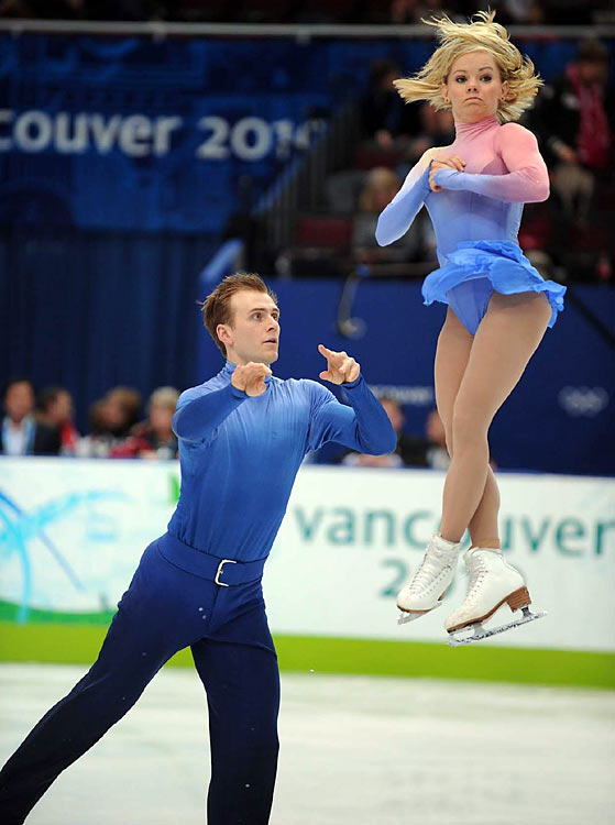Canada's Anabelle Langlois and Cody Hay.