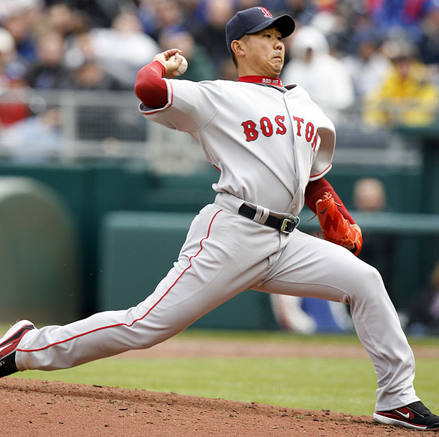 Matsuzaka was already a sensation in Japan and far from a typical prospect when he joined the Red Sox before the 2007 season. He helped the Red Sox win the World Series his rookie year and went 18-3 with a 2.90 ERA in 2008 before suffering through an injury-plagued 2009.