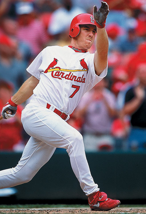 After passing on an offer from the Philies in 1997, Drew headed to the Independent Northern League before re-entering the draft in 1998. Picked up by the St. Louis Cardinals, Drew struggled with injuries. He eventually was traded to the Atlanta Braves in 2003, where he won the MVP award during his first All-Star game. He had two good seasons with the Dodgers (2005-06) before joining the Red Sox, where his playoff exploits have made amends for other perceived shortcomings.