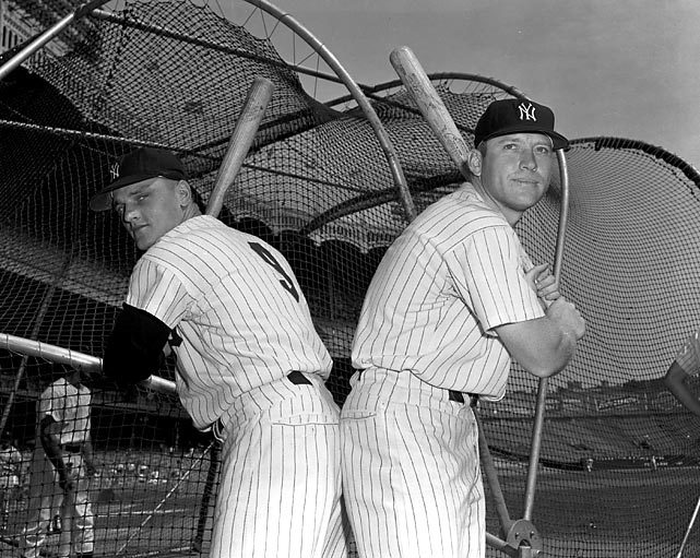 The M & M Boys -- Mickey Mantle and Roger Maris -- beat up on the AL, but the pitching staff also allowed the second-fewest runs.