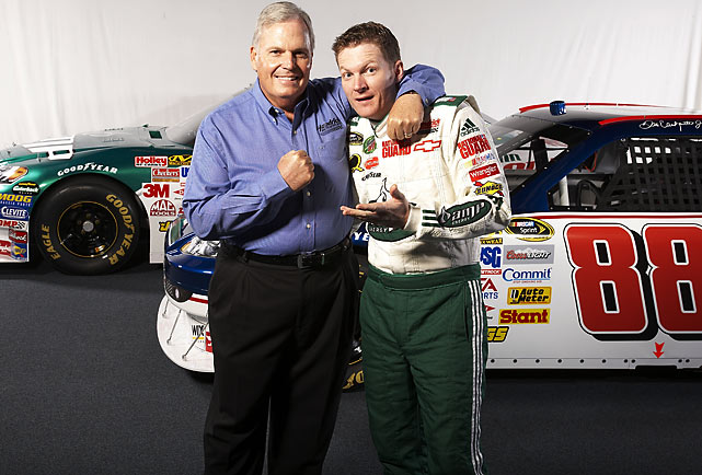 After spending the majority of his career racing under the family's Dale Earnhardt Inc., Junior headed over to Hendrick Motorsports at the end of the 2007 season.