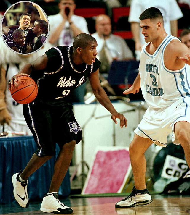 "Harold ""The Show"" Arceneaux. The name instantly evokes NCAA tournament nostalgia, and for good reason: Arceneaux earned instant fame by dropping 36 points in Weber State's first-round shocker over the Tar Heels. Then-North Carolina coach described  Arceneaux's performance with one word: ""Unconscious."""