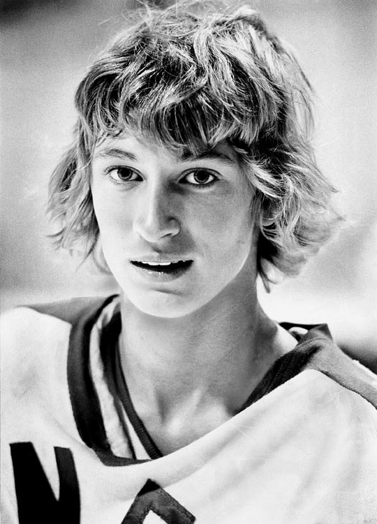 Gretzky, 17, scored 70 goals and 182 points in 63 games for the Sault Ste. Marie Greyhounds of the Junior A Ontario Hockey Association and was the youngest player on Team Canada at the 1978 World Junior Championship in Quebec City. (He lead all scorers with eight goals and nine assists in six games.) Despite his prowess and uncanny on-ice sense and vision, some scouts feared he would be too small to play in the NHL.