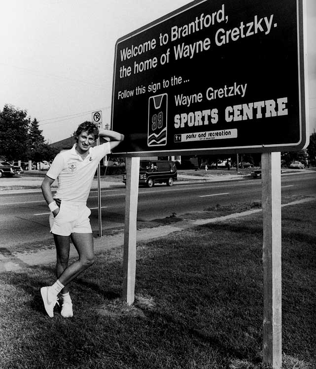 Only four years into his pro career, Gretzky had put his hometown on the map.