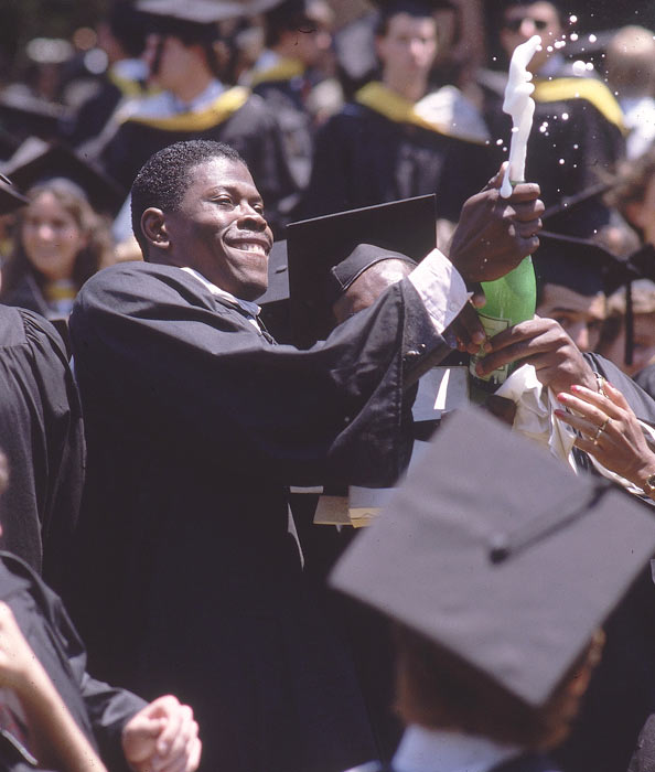 Though Ewing would lose to Villanova in the championship of his senior season, he had reason to celebrate. He left Georgetown as one of the top college players of all time and one of the school's 1,460 graduates in 1985.