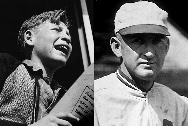 "<b><i>""Say it ain't so, Joe.""</b></i>-- to Chicago outfielder Shoeless Joe Jackson, who was accused of helping the ""Black Sox"" throw the 1919 World Series."
