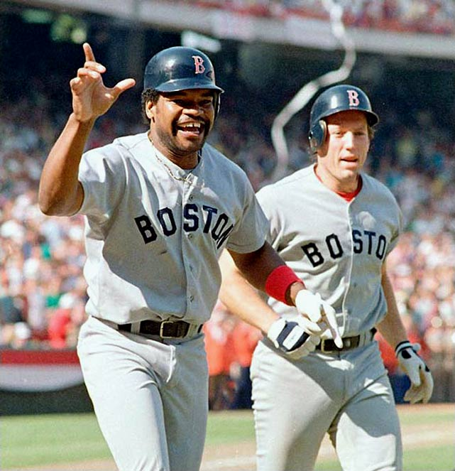 On the brink of advancing to the 1986 World Series, the Angels blew a 5-2 ninth-inning lead when Donnie Moore allowed a two-out, two-run home run to Dave Henderson in Game 5. Boston eventually won the game 7-6 in the 11th on Henderson's sacrifice fly.