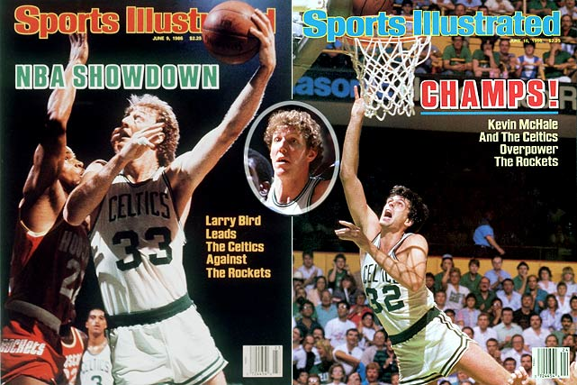 I admit a soft spot for this team, which won the championship in my first year on the NBA beat for SI. I saw first-hand their confidence, their unselfishness, and their relentless good-natured jabs at new Celtic Bill Walton (inset).