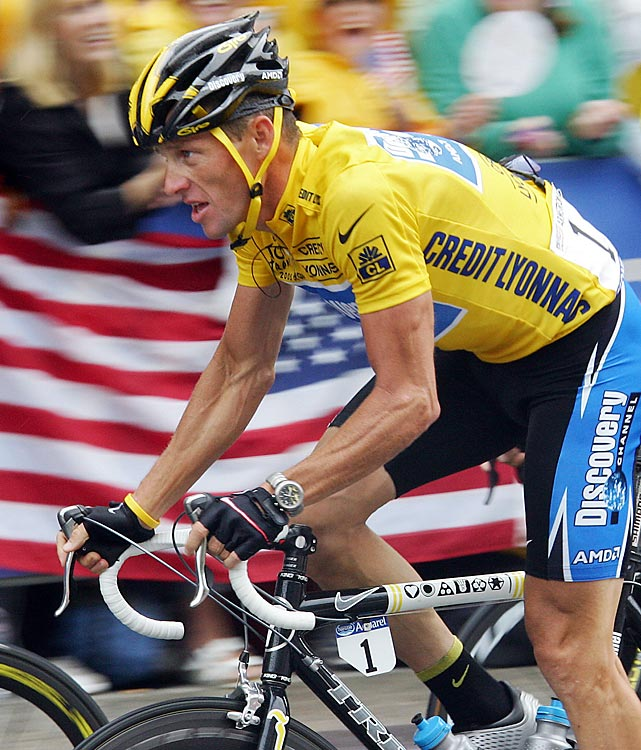 Few athletes have beaten cancer and returned to peak condition. Even fewer have returned to the pinnacle of their sport. Lance Armstrong won the Tour de France a record seven consecutive times -- all after surviving testicular cancer. Armstrong is the only cyclist to win the Tour seven times, and his story has made him an icon around the world.