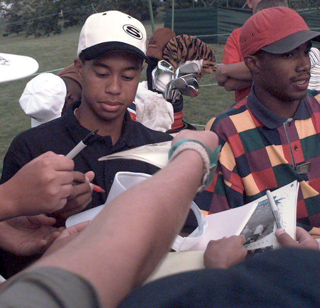 When Tiger arrived at Stanford in the fall of 1994, he was already well known in the golf world. During Woods's first year of college, he won the U.S. Amateur title and qualified to play in the Masters.
