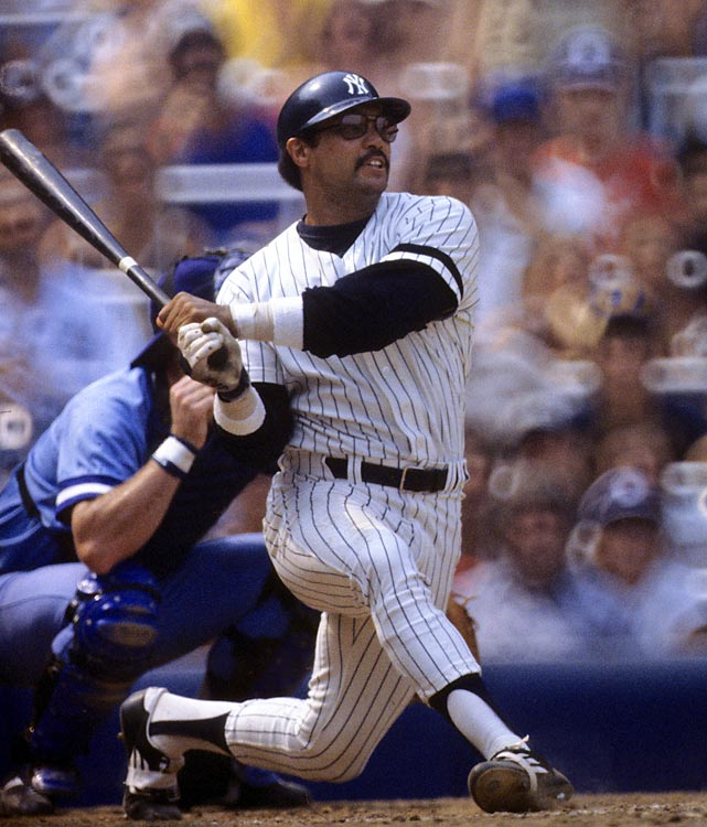 Jackson hit 563 home runs over a 20-year career with the A's, Orioles, Yankees and Angels, but is best known for his clutch hitting, earning him the nickname Mr. October.