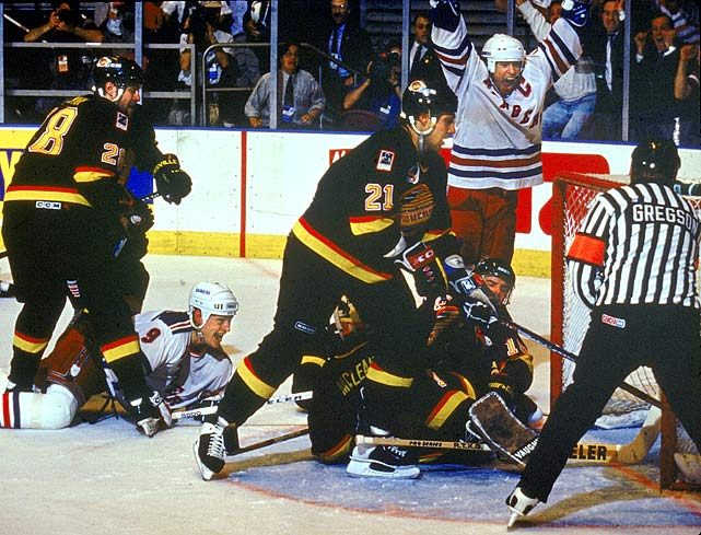 The Canucks joined the NHL for 1970-71, and have sent two teams to the Stanley Cup Final. The 1981-82 squad was waxed by the dynastic Islanders in four games, but the 1993-94 edition gave the Rangers a valiant seven-game battle before succumbing.