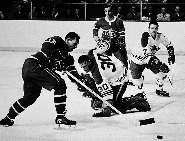 The Leafs, who won their last Cup in 1967 by beating Montreal in six games, have been to the semifinal round (or conference finals) five times since: 1978, ''93, '94, '99 and 2002.