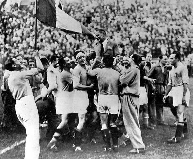 The host nation delivered again as Italy beat Czechoslovakia 2-1 in the final thanks to an extra-time goal from Angelo Schiavo.  The Italians had opened the tournament with a 7-1 rout of the United States before beating Spain and Australia en route to the final.