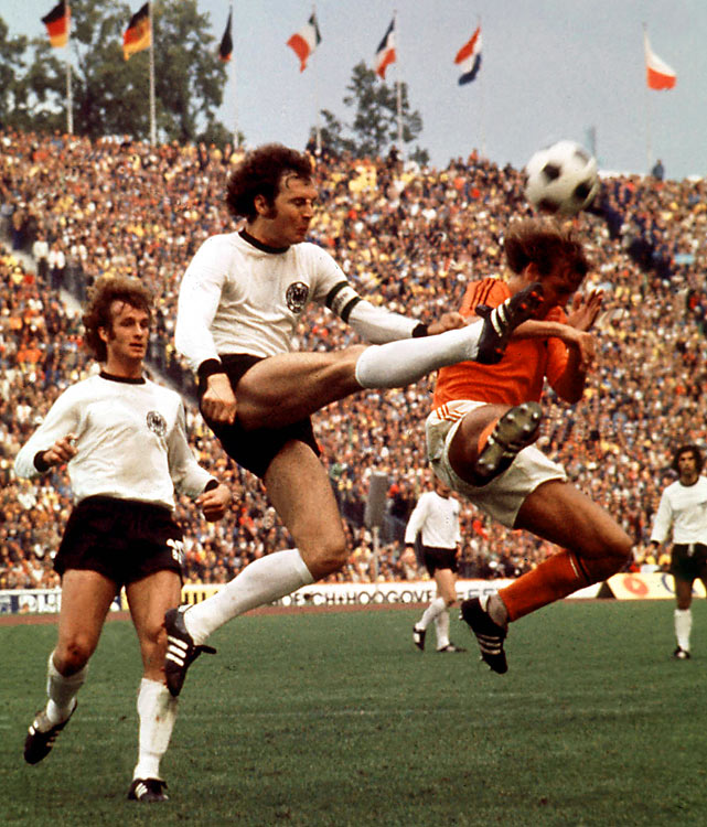 Led by Sepp Maier, Franz Beckenbauer and Gerd Müller, West Germany overcame a classy Dutch side in the final to win the title on home soil.